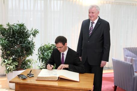 Wallner München landeshauptmann wallner trifft ministerpräsident seehofer auch ibh
