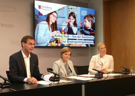 Land Vorarlberg Presse Lh Wallner Kolleg Dual Start Der Neuen